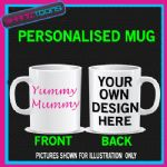 YUMMY MUMMY MUM MOTHER NOVELTY COFFEE MUG GIFT